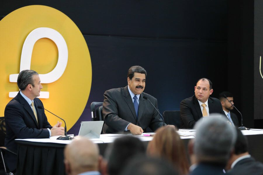 Venezuela Raised $735 Million in First Cryptocurrency Sale