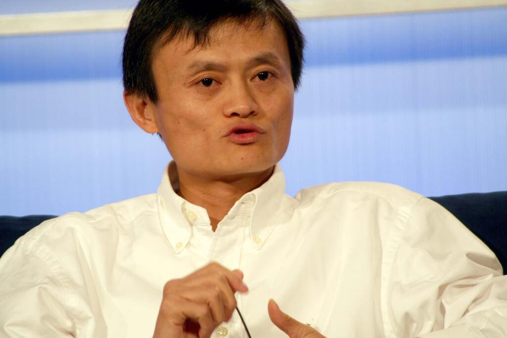 """Alibaba CEO Jack Ma, """"Yes to Blockchain, No to Bitcoin"""""""