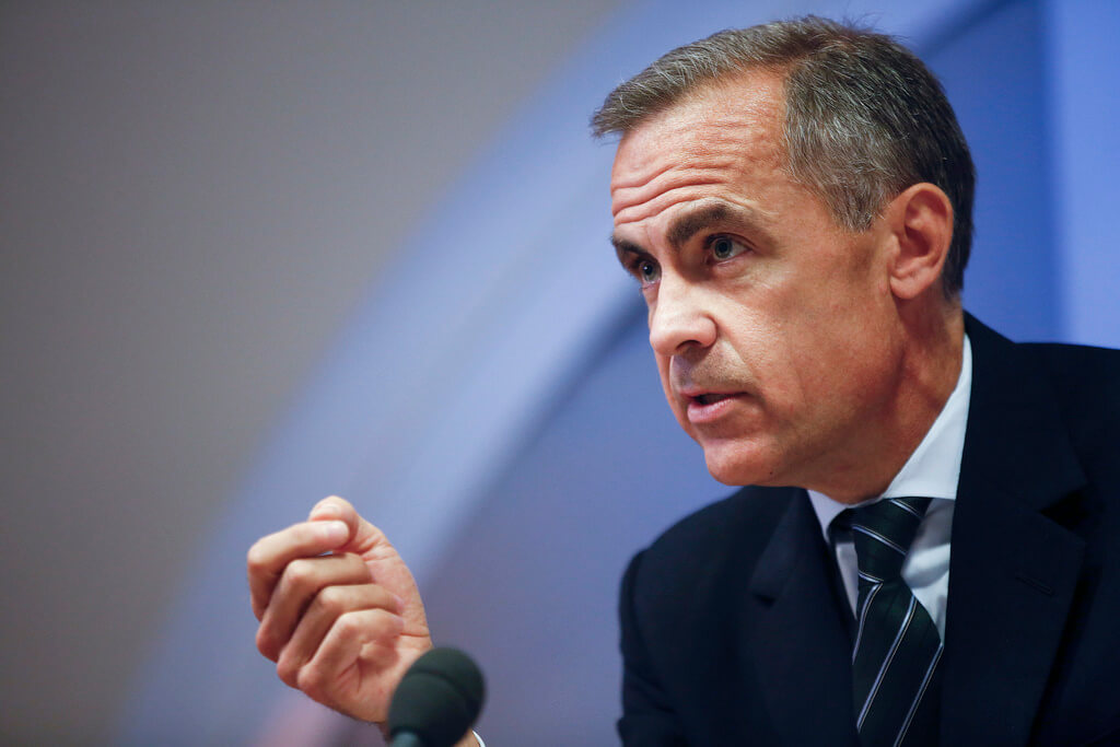 Bank of England Governor is open toward a digital cryptocurrency