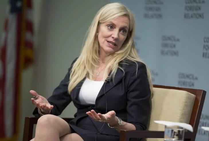 Lail Brainard, a governor of the Federal Reserve spoke during a San Francisco summit today.