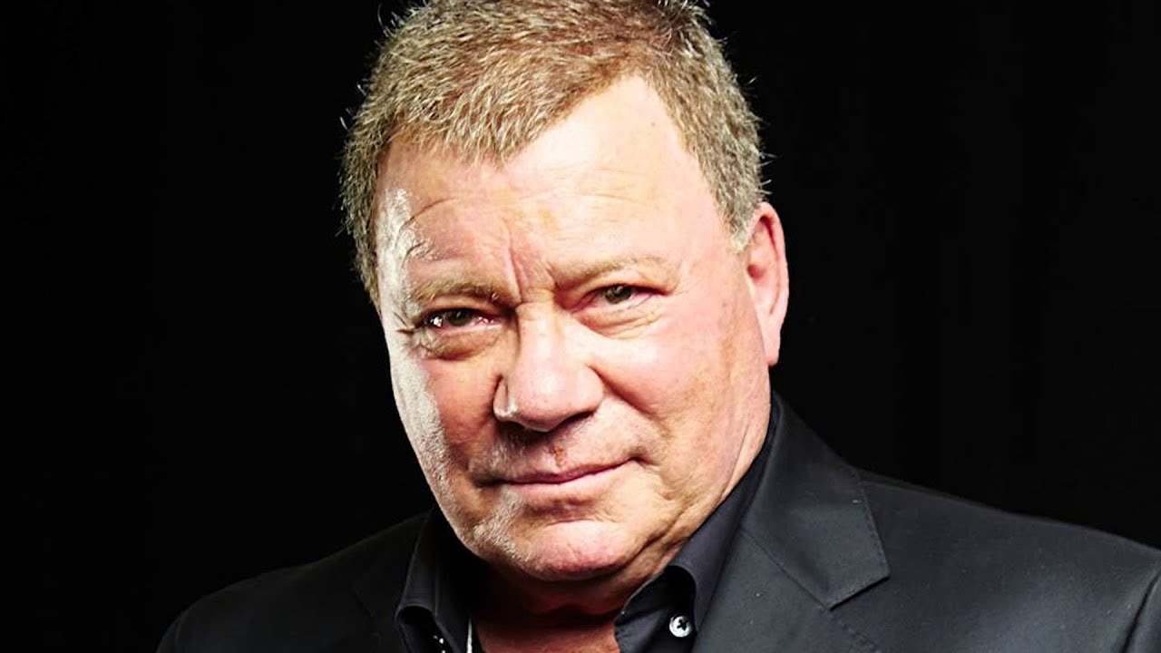 William Shatner is known for his legendary role as Captain Kirk on Star Trek.