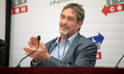 McAfee called financial institutions not to do business with Reserve bank of India (RBI)