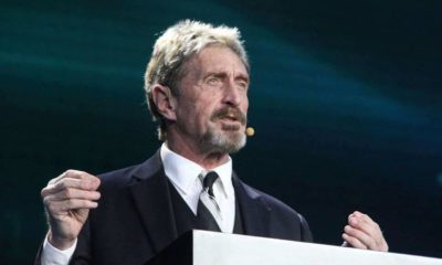 John McAfee Offers $100k to Hack the BitFi Wallet