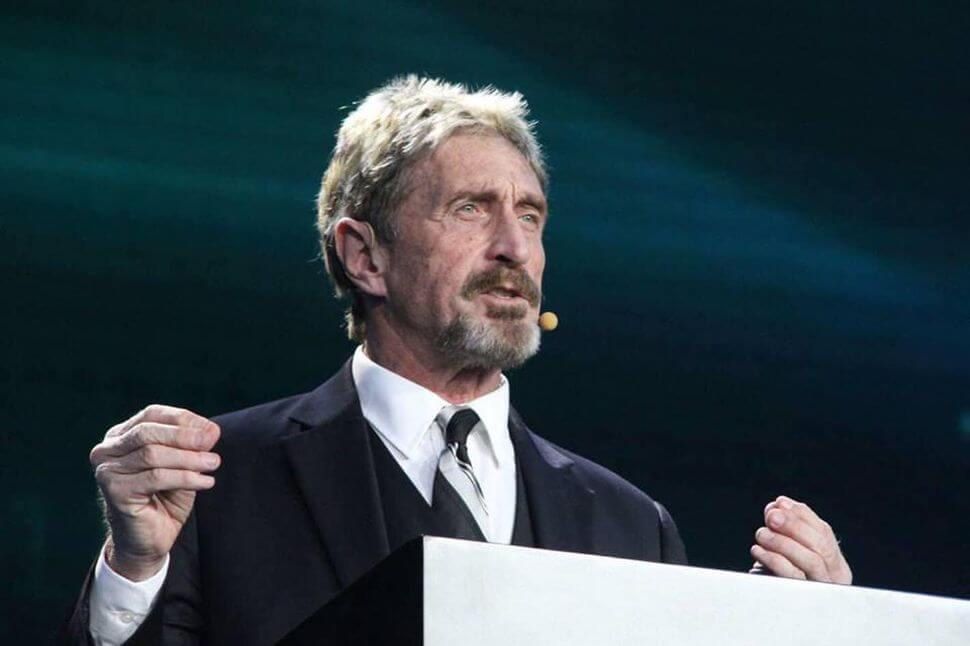 John McAfee officially appointed as the new CEO of Luxcore