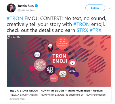 TRON EMOJI CONTEST