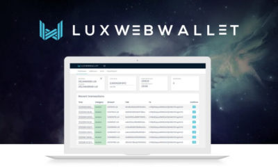 Blockchain Project Luxcore Introduces the First Staking Web-Wallet-as-a-Service