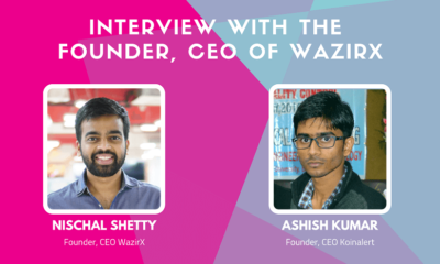 Interview with the Founder, CEO of WazirX, Nischal Shetty