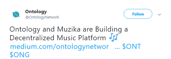 Ontology and Muzika are Building a Decentralized Music Platform