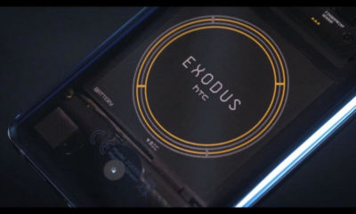 HTC Exodus, the blockchain-powered smartphone available for pre-order