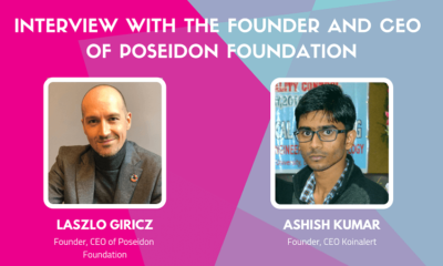 Interview Laszlo Giricz the Founder and CEO of Poseidon Foundation