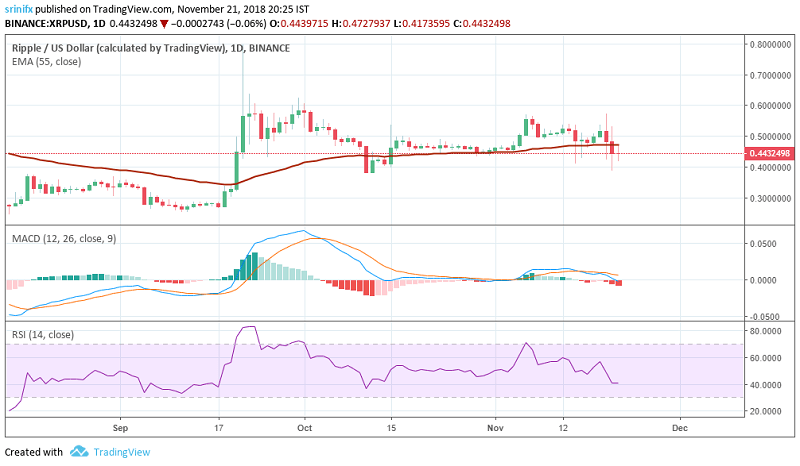 Ripple price prediction and technical analysis 22nd November 2018