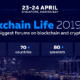 Global forum Blockchain Life 2019 in Singapore