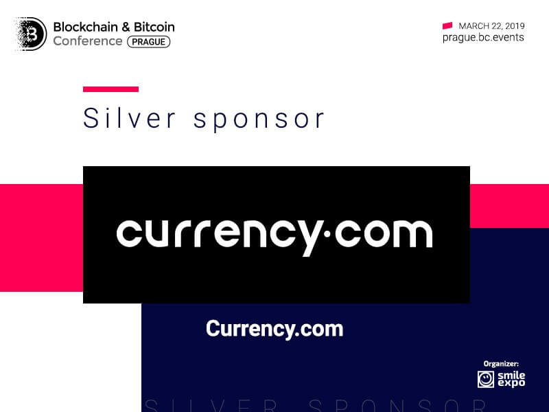 Silver Sponsor at Blockchain & Bitcoin Conference Prague