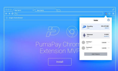 PumaPay Launches its Chrome Extension to Access and Manage the Wallet