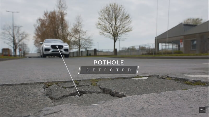 pothole detected