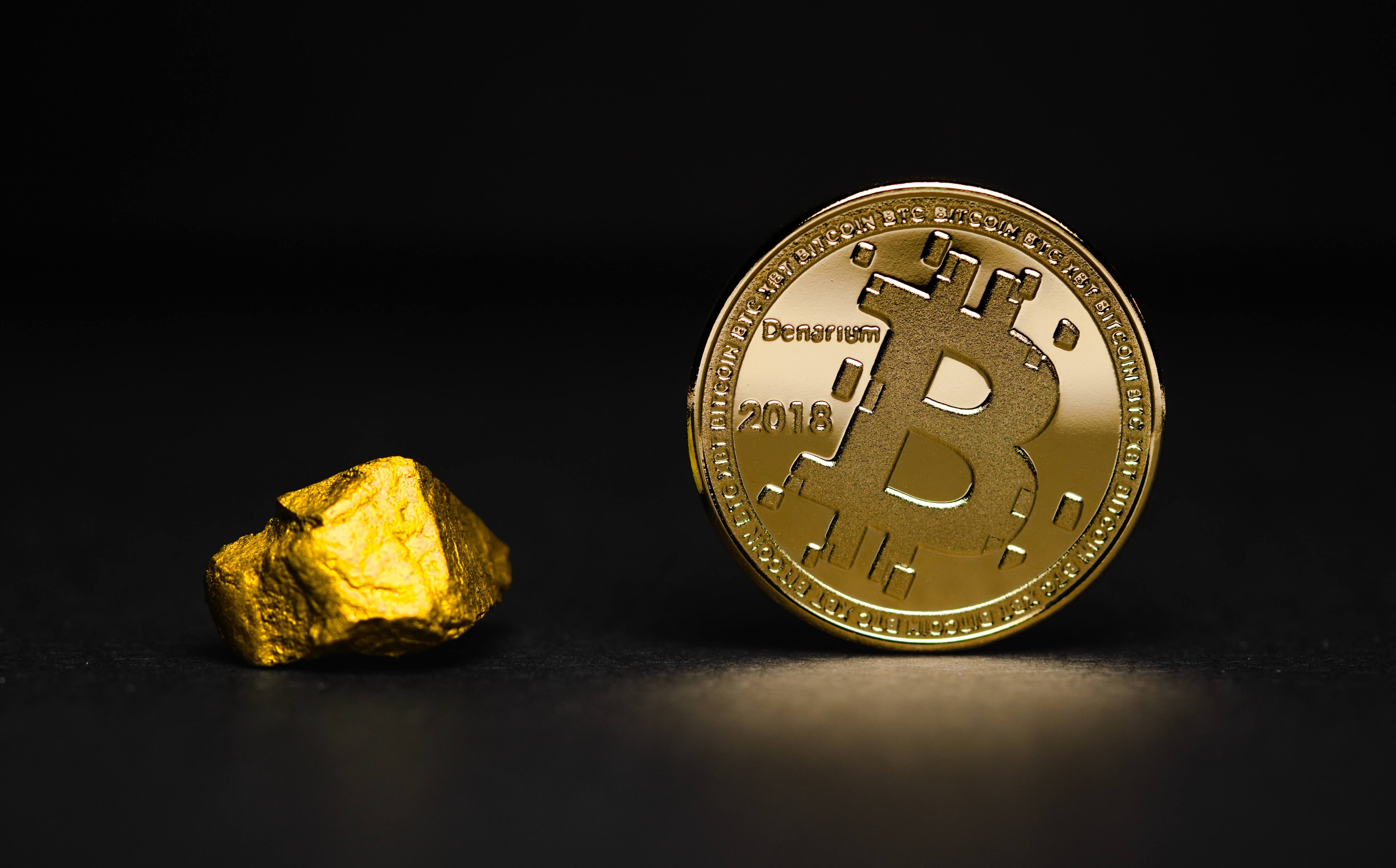 GOLD VS BITCOIN