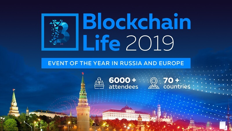 Blockchain Life is happening in Moscow on October 16-17