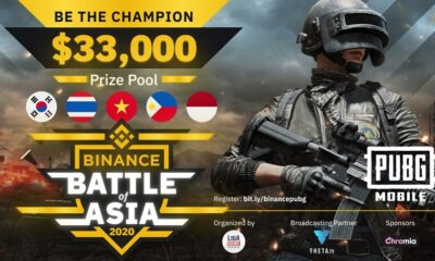 Binance to organize first PUBGM Tournament: Battle of Asia