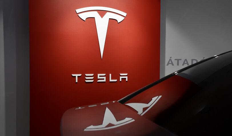 Tesla car manufacturer