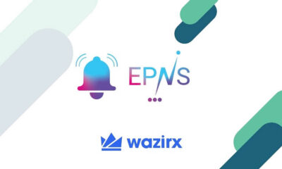 WazirX Lists Ethereum Push Notification Service (EPNS) in INR and USDT Market