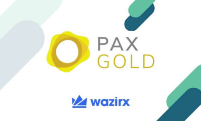 WazirX Lists PAX Gold (PAXG) in INR and USDT Market