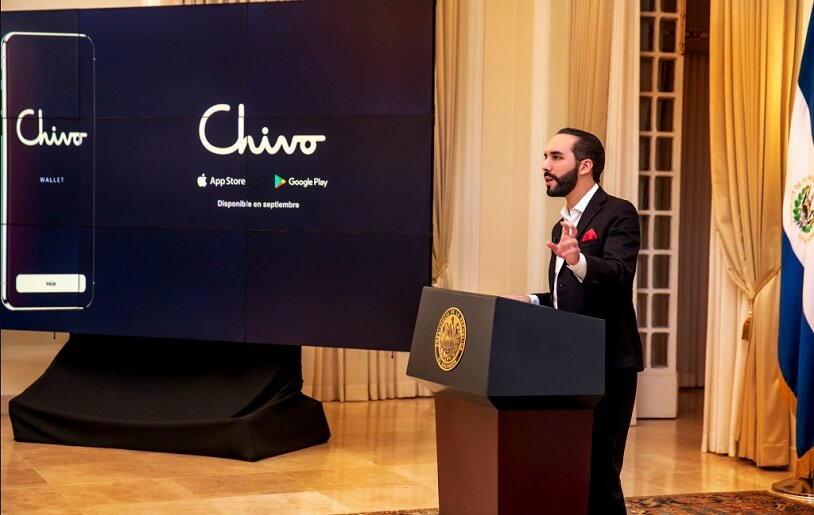 El Salvador will give $30 in Bitcoin to every citizen who downloads Chivo App